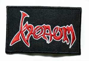 "Venom - Logo 4"" Embroidered Patch"