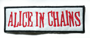 "Alice In Chains - Logo 3"" Embroidered Patch"