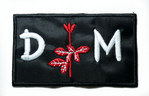"Depeche Mode - Violator Logo 3"" Embroidered Patch"