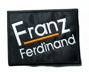 """Franz Ferdinand - Logo 3.5"""" Embroidered Patch"""