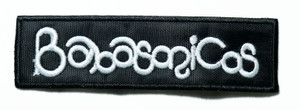 "Babasonicos - Logo 5"" Embroidered Patch"