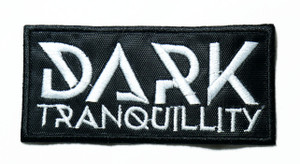 """Dark Tranquility - Logo 4"""" Embroidered Patch"""