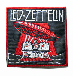 """Led Zeppelin - Mothership 3.5"""" Embroidered Patch"""