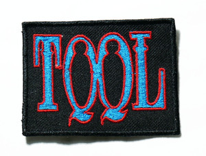 """Tool - Blue Logo 3"""" Embroidered Patch"""