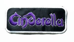 "Cinderella - Logo 4"" Embroidered Patch"