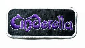 "Cinderella - Logo 4"" Embroidered Patch"