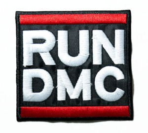 "Run DMC - Logo 3.5"" Embroidered Patch"