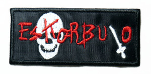 "Eskorbuto - Skull Logo 4"" Embroidered Patch"