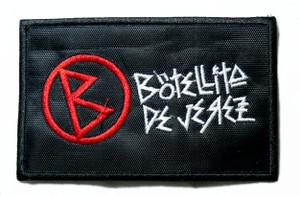 "Botellita De Jerez - Logo 4"" Embroidered Patch"