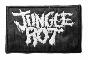 """Jungle Rot - Logo 4"""" Embroidered Patch"""