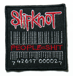 "Slipknot - People=Shit 3"" Embroidered Patch"