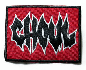 """Ghoul - Logo 4"""" Embroidered Patch"""