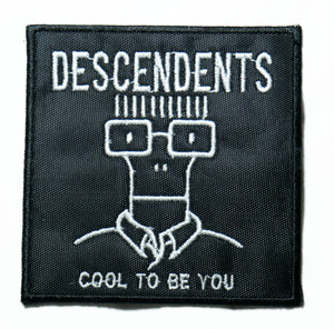 "Descendents - Cool To Be You 3"" Embroidered Patch"