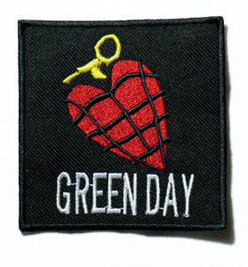 """Green Day - American Idiot 3"""" Embroidered Patch"""