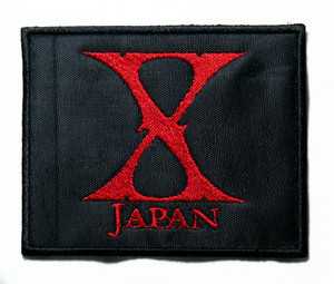 """X Japan -  Logo 3"""" Embroidered Patch"""
