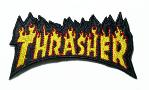 "Thrasher 4.5"" Embroidered Patch"