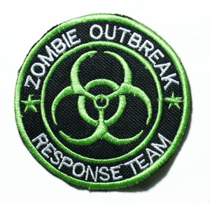 "Zombie Outbreak Response Team 3"" Embroidered Patch"