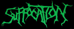 "Suffocation Logo 6x3"" Printed Patch"