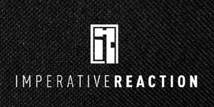 "Imperative Reaction - Logo 5.5x2.5"" Printed Patch"