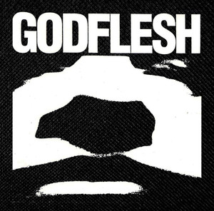 "Godflesh - Logo 4.5x4.5"" Printed Patch"