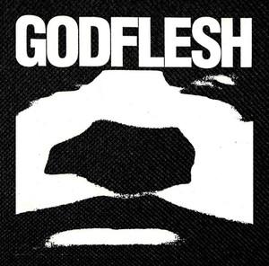 "Godflesh - Logo 4.5x4.5"" Printed Patch"