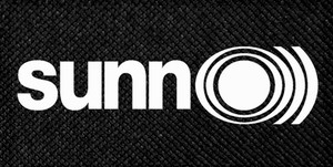 "Sunn O))) - Logo 4.5x2.5"" Printed Patch"