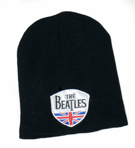 The Beatles - British Flag Crest Beanie