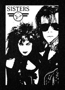 "Sisters of Mercy - Pat & Andrew 3.5x5"" Printed Patch"
