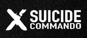 "Suicide Commando - 'X' 5x2.5"" Printed Patch"