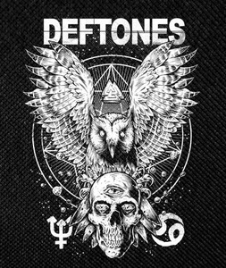 "Deftones - Diamond Eyes 3.5x5.5"" Printed Patch"