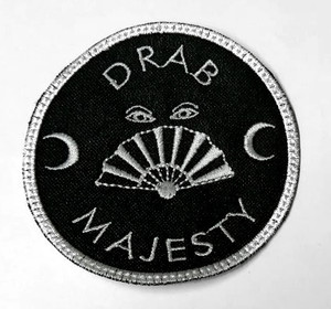 "Drab Majesty - Logo 3"" Embroidered Patch"