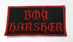 "Boy Harsher - Logo 4"" Embroidered Patch"