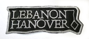 "Lebanon Hanover - Logo 3"" Embroidered Patch"