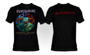 Iron Maiden - Legacy Of The Beast T-Shirt