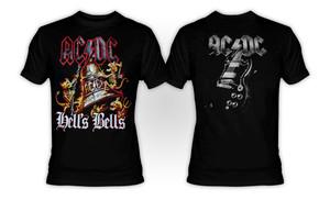 AC/DC - Hells Bells Rakva T-Shirt