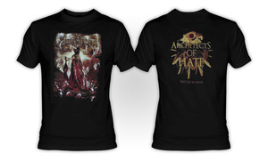 Graveworm - Architects Of Hate Mexico 2010 T-Shirt