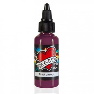 Mom's Ink Tattoo Ink Bottle .5oz - Black Cherry