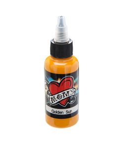 Mom's Ink Tattoo Ink Bottle .5oz - Golden Sun