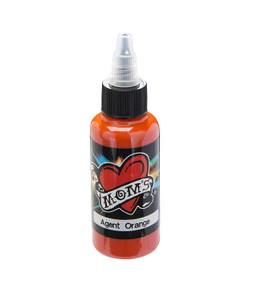 Mom's Ink Tattoo Ink Bottle .5oz - Agent Orange