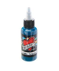 Mom's Ink Tattoo Ink Bottle .5oz - Cadillac Turquoise