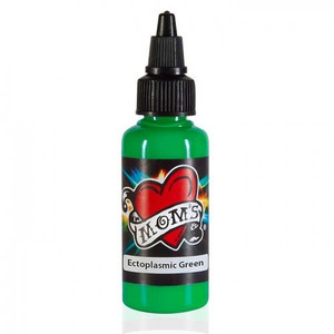 Mom's Ink Tattoo Ink Bottle .5oz - Ectoplasmic Green
