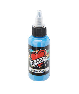 Mom's Ink Tattoo Ink Bottle .5oz - Cotton Candy