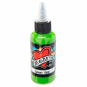 Mom's Ink Tattoo Ink Bottle .5oz - Green Gob