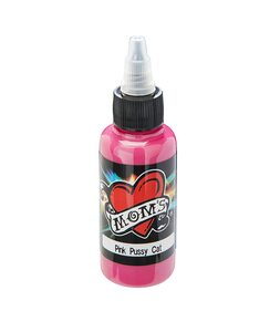 Mom's Ink Tattoo Ink Bottle .5oz - Pink Pussy Cat