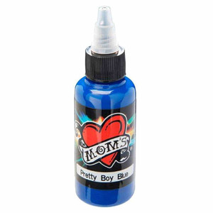 Mom's Ink Tattoo Ink Bottle .5oz - Pretty Boy Blue