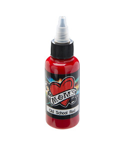 Mom's Ink Tattoo Ink Bottle .5oz - Old School Red