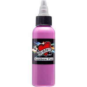 Mom's Ink Tattoo Ink Bottle .5oz - Rainbow Pink
