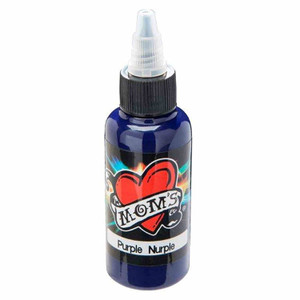 Mom's Ink Tattoo Ink Bottle .5oz - Purple Nurple