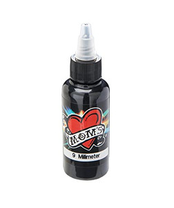 Mom's Ink Tattoo Ink Bottle .5oz - 9 Millimeter