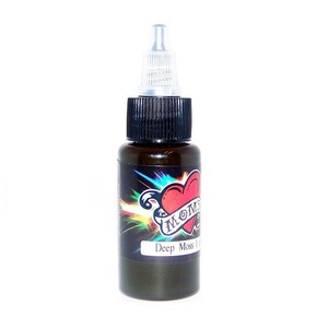 Mom's Ink Tattoo Ink Bottle .5oz - Deep Moss